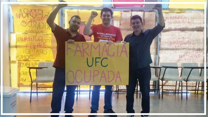 Nota de Apoio do Sinfarce aos  estudantes de Farm�cia da UFC