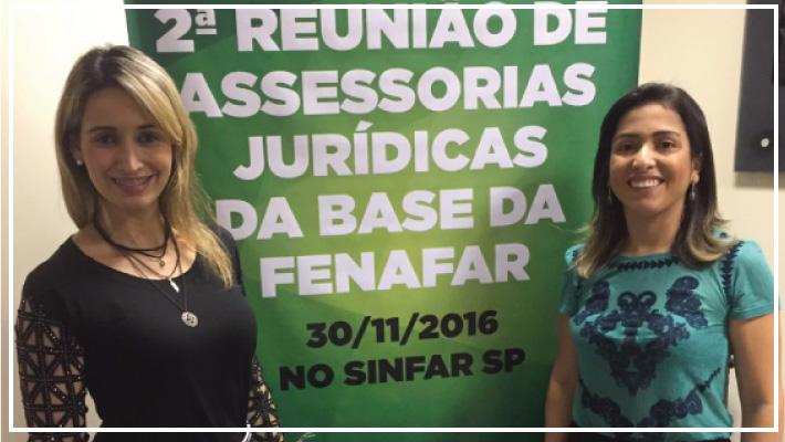 Sinfarce participa do 2� Encontro das Assessorias Jur�dicas